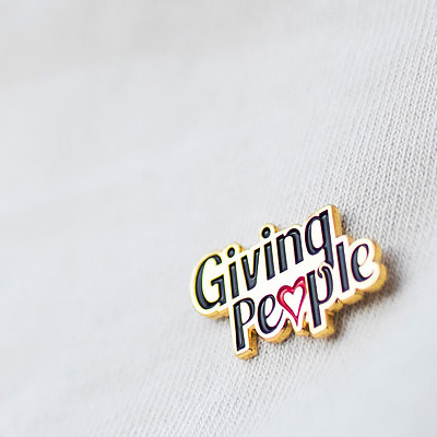 Giving Peoples pin